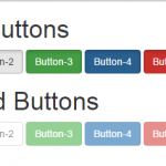 Create Disabled Active Button using Bootstrap classes in HTML,PHP