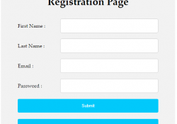 PHP Create user Signup Registration page with Login script using MySQL database