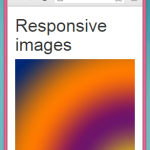 Create Responsive images in HTML,PHP using Bootstrap CSS classes