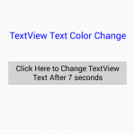 Call a Method Task after a delay in android using Handler