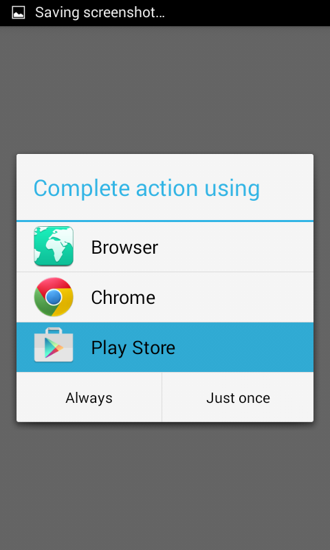 Open Specific App Inside Google Play Store Via Android App