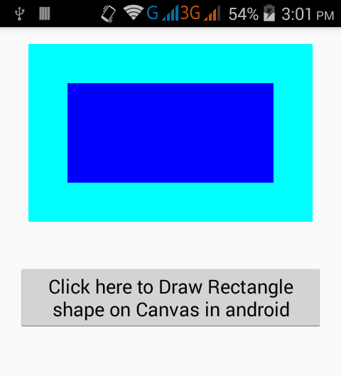 Create Draw Rectangle Shape Above Canvas In Android Android Examples