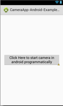Android Create Simple Camera App with source code example