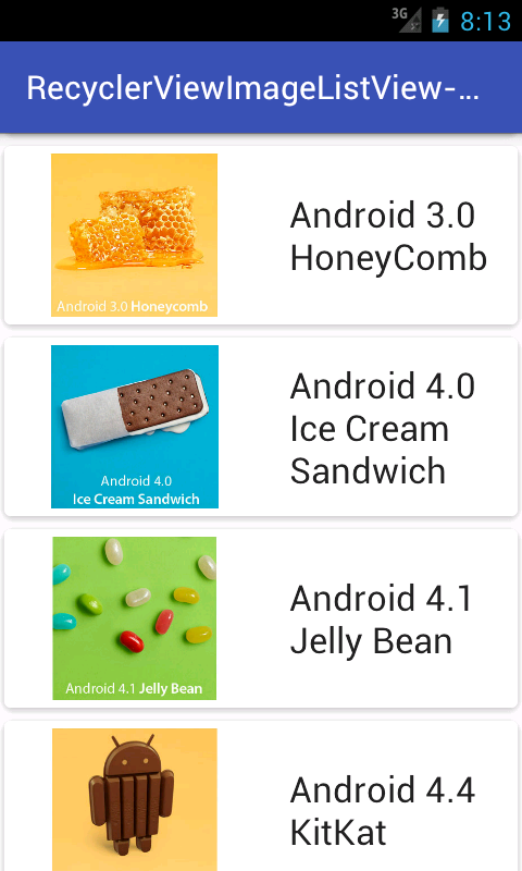 Android Recyclerview Listview With Imageview Textview Json