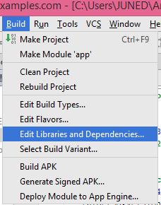 how to add text file in android project