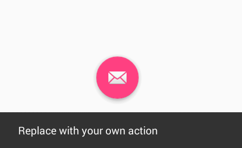 Add Material Design Floating Action Button(FAB) in Android