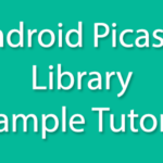 Android Picasso Library Load Single image from URL example tutorial Android Studio