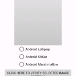 Create Captcha in android using Scratch View to display hidden Image Text