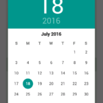 Create Show Material Design DatePicker Dialog for android kitkat 4.0 pre lollipop devices