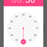 Create Material Design Time Picker Tool Widget in pre Lollipop devices