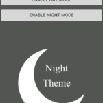 Create Android App with Day Night Theme Mode example tutorial
