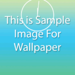 Set ImageView image as Phone Wallpaper in android programmatically