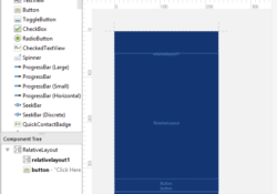 Show Hide Latest Blueprint Design View in Android Studio Activity