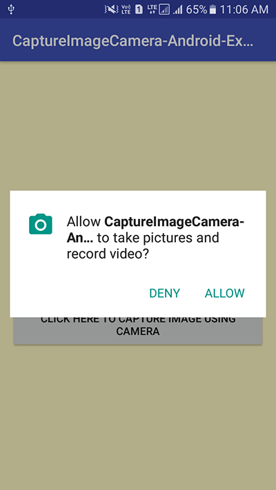 Capture Image from Camera and Display in ImageView android
