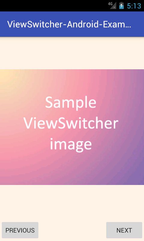 how to set src of imageview in android
