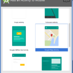 Google Maps Integration in Android Application Studio Example