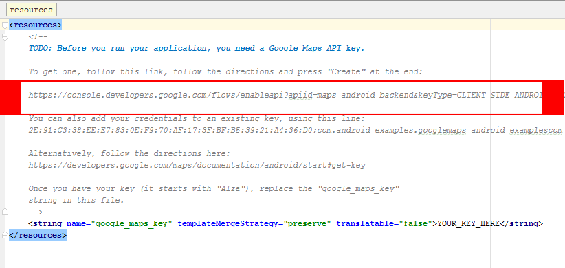 Google Maps Integration in Android Application Studio