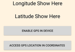 Get Current GPS Coordinates Location Android Programmatically