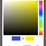Android Create Color Picker Dialog Example Tutorial Using Github Library