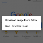 Android Save Download Image from WebView on Long Press Image Tutorial
