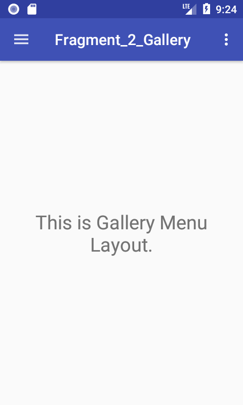 Android Create Navigation Drawer Using Fragments Example Tutorial