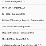 Android Show All Mp3 Media Files From SD Card in ListView